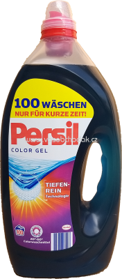 Persil Color Gel, Tiefen Rein Technologie, 5l, 100 Wl