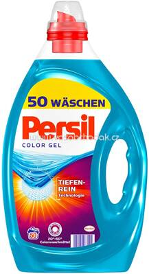 Persil Color gel, Tiefen Rein Technologie, 2,5 l, 50 Wl