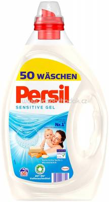 Persil Sensitive Gel, Tiefen Rein Technologie, 2,5l, 50 Wl