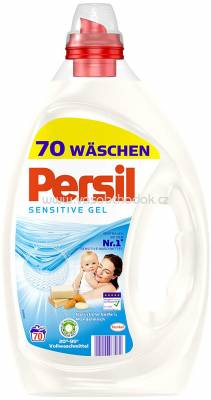 Persil Sensitive Gel, Tiefen Rein Technologie, 3,5l, 70 Wl