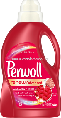 Perwoll Flüssig renew Advanced Color, 1,5l, 20 Wl