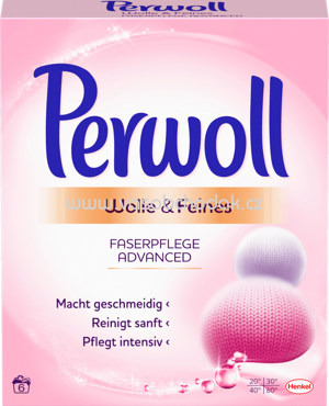 Perwoll Pulver Wolle & Feines Advanced, 6 Wl
