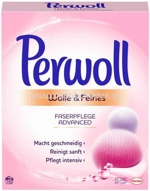 Perwoll Pulver Wolle & Feines Advanced, 880g, 16 Wl
