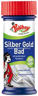 Poliboy Silber Gold Bad, 375 ml