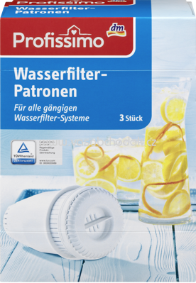 Profissimo Wasserfilter-Patrone 3St