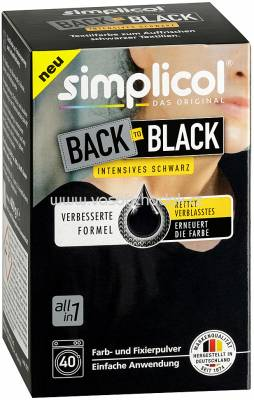 Simplicol Back-to-Black Farberneuerung, 1 St