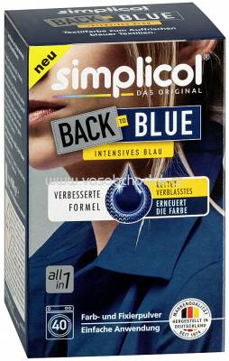 Simplicol Back-to-Blue Farberneuerung, 1 St
