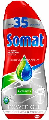 Somat Power Gel Fettlösekraft & Filterschutz, 35 Sp, 700 ml