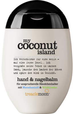 treaclemoon Handcreme my coconut island, 75 ml