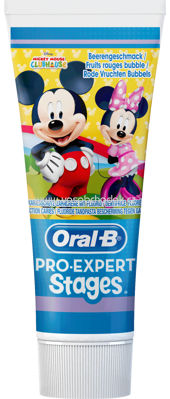 Oral-B Zahnpasta Kinder Pro Expert Stages Mickey Maus, 75 ml