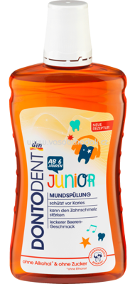 DONTODENT Mundspülung Junior, 500 ml