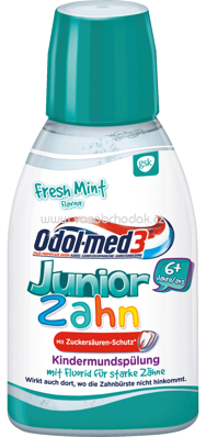 Odol med 3 Mundspülung Junior, 300 ml