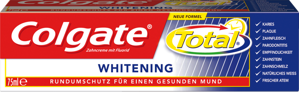 Colgate Zahnpasta Total Whitening, 75 ml