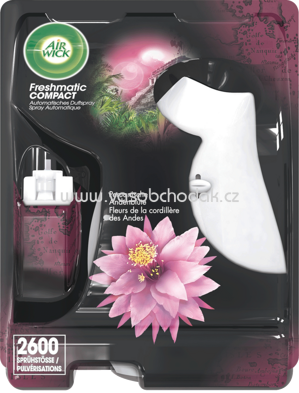 AirWick Freshmatic Compact Starter-Set Peruanische Andenblüte, 24 ml