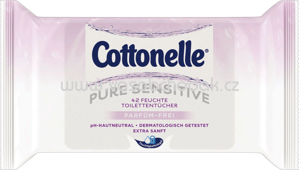 Cottonelle Toilettenpapier feucht Pure Sensitive, 42 St