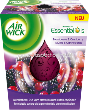 AirWick Essential Oil Infusion Brombeere & Cranberry, 1 St