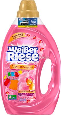 Weisser Riese Color Gel Aromatherapie Malaysia Orchidee & Sandelholz, 20 Wl