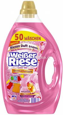 Weisser Riese Color Gel Aromatherapie Malaysia Orchidee & Sandelholz, 50 Wl