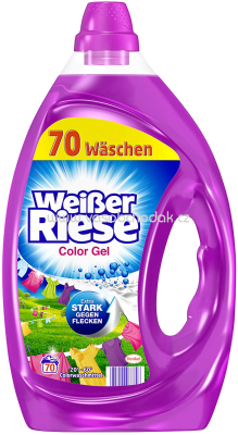 Weisser Riese Color Gel, 3,5l, 70 Wl