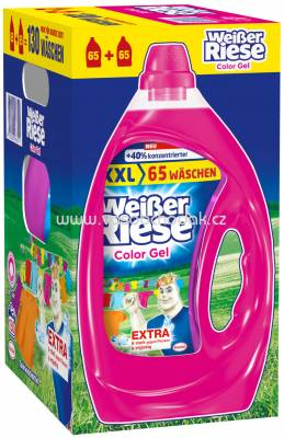 Weisser Riese Color Gel, 6,5 l, 130 Wl