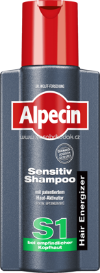 Alpecin Sensitiv Shampoo S1, 250 ml
