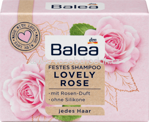 Balea Festes Shampoo Lovely Rose, 60g