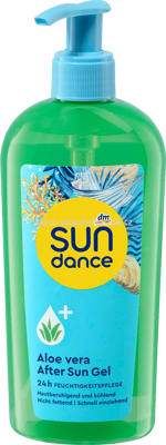SUNDANCE After Sun Gel Aloe Vera, 300 ml