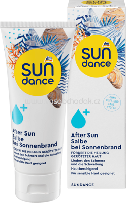 SUNDANCE After Sun Salbe bei Sonnenbrand, 75 ml