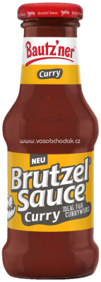 Bautz'ner Brutzel Sauce Curry, 250 ml