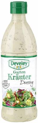 Develey Salatliebe Kräuter-Dressing, 500 ml