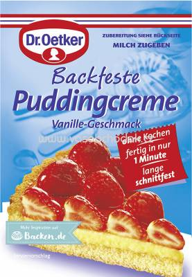 Dr.Oetker Backfeste Puddingcreme, 40g