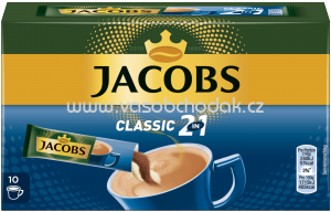 Jacobs Classic 2in1 Sticks, 10x14g, 140g