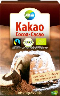 Allfair Bio Kakao Fairtrade, 125g