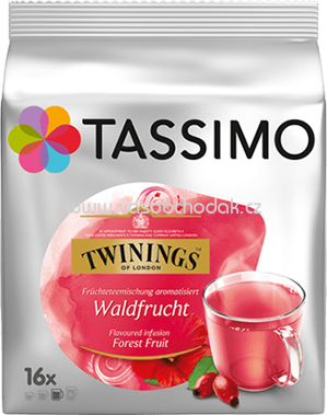 Jacobs Tassimo Twinings Forest Fruit 16St