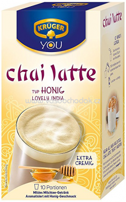 Krüger Typ Chai Latte Lovely India Honig, 250g