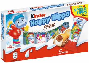 Kinder Happy Hippo Cacao, 5 St, 103,5g