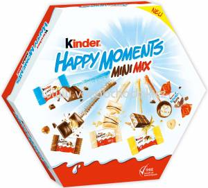 Kinder Happy Moments Mini Mix, 162g