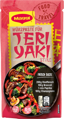 Maggi Food Travel Würzpaste für Teriyaki Style, 65g
