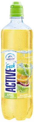 Adelholzener Active Fresh Apfel Orange Maracuja, 750 ml