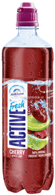 Adelholzener Active Fresh Cherry Apple Lime, 750 ml