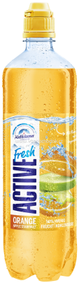 Adelholzener Active Fresh Orange Apple Starfruit, 750 ml