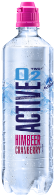 Adelholzener Active O2 Himbeer Cranberry, 750 ml