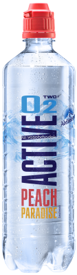 Adelholzener Active O2 Peach Paradise, 750 ml