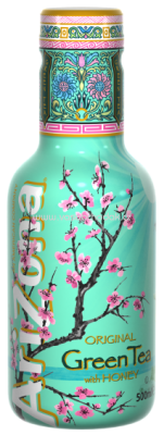 AriZona Green Tea 500 ml a 1,5 l