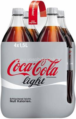 Coca Cola Light, 4x1,5l