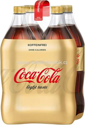 Coca Cola Light Koffeinfrei, 4x1,5l