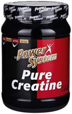 Power System Pure Creatine Pulver, 650g