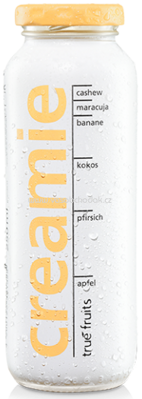 True Fruits Creamie Pfirsich-Maracuja, 250 ml