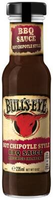 Bull's Eye Hot Chipotle Style BBQ Sauce 235ml