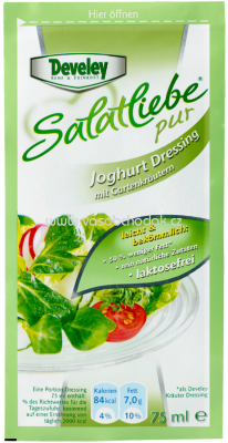 Develey Joghurt-Kräuter Pur Dressing 75ml